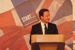 David Cameron at the StartUp Britain launch