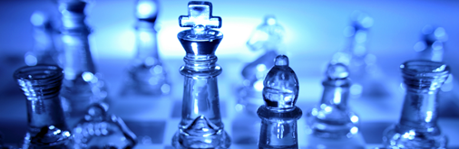Business planning - chess pieces