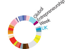 Global Entrepreneurship Week logo{{}}