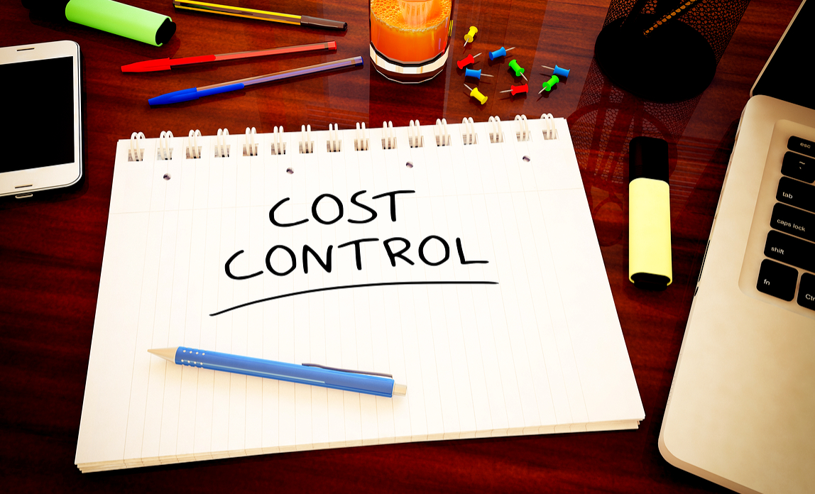 Controlling costs - checklist