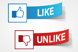 Facebook - Like/Unlike{{}}
