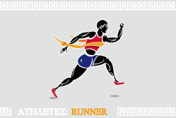 Olympic runner from Ancient Greece{{}}