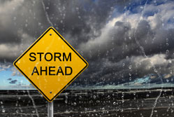 Riding the storm - what to do if your business is affected by bad weather{{}}