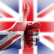 Olympic spirit - Union Jack hand