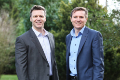 Steve Backley and Roger Black