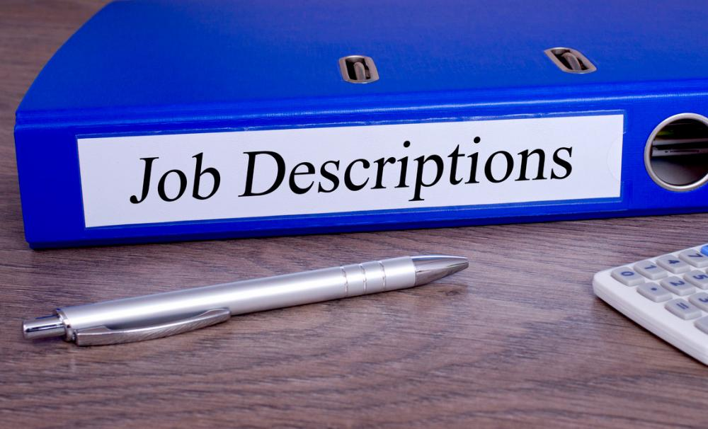 Job description template{{}}