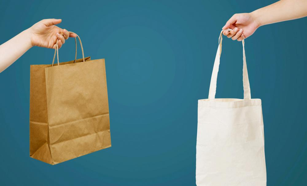 Shopping bags - top tips from Julia Gash of ethical business BIDBI
