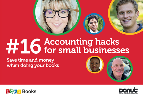 16 Accounting hacks for SMEs guide front cover