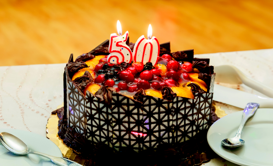 Birthday cake - how i became an older entrepreneur
