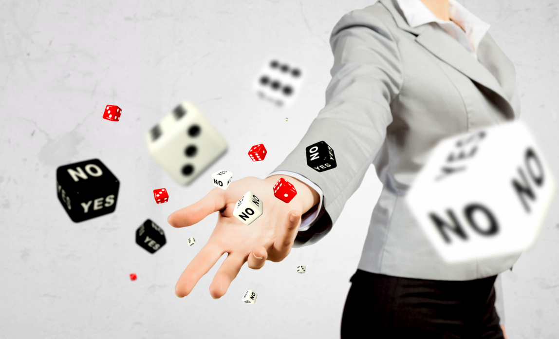 Throwing dice - risks to your business