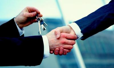 Business premises - key exchange