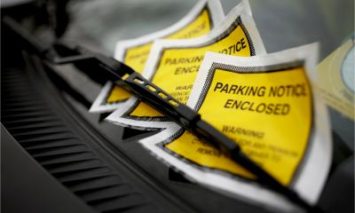 A driver has received a number of parking tickets