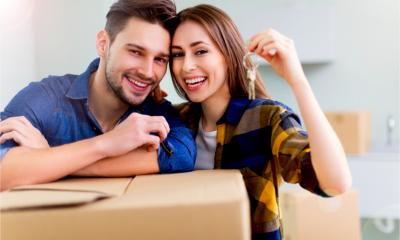 A self employed couple manage to buy their first home