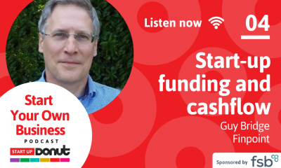 Guy Bridge is the guest for episode 04 of the Start Up Your Business podcast