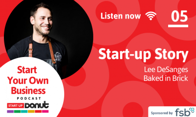 Lee Desanges, guest on episode 05 of the Start Up Your Business podcast
