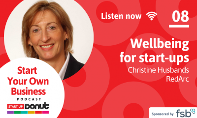 Christine Husbands is the guest in episode 08 of the Start Your Own Business podcast