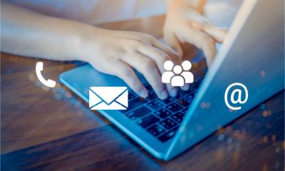 Using databases, direct mail and email marketing to contact customers
