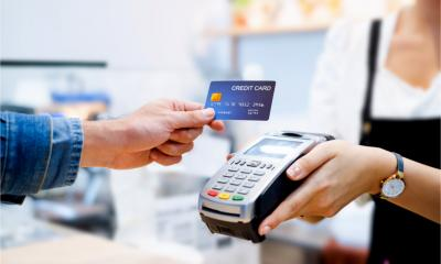 Using contactless card technology to pay for goods while maintaining social distancing during the COVID-19 pandemic