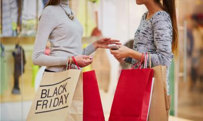 UK shoppers plan big spend on Black Friday