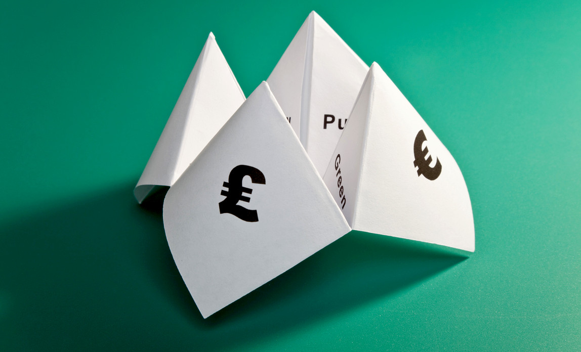 Setting prices using a paper fortune teller
